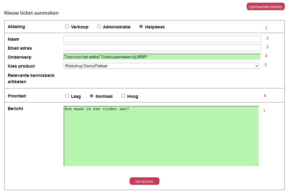 Hoe maak ik een ticket aan bij Mijn Webshop Partner?