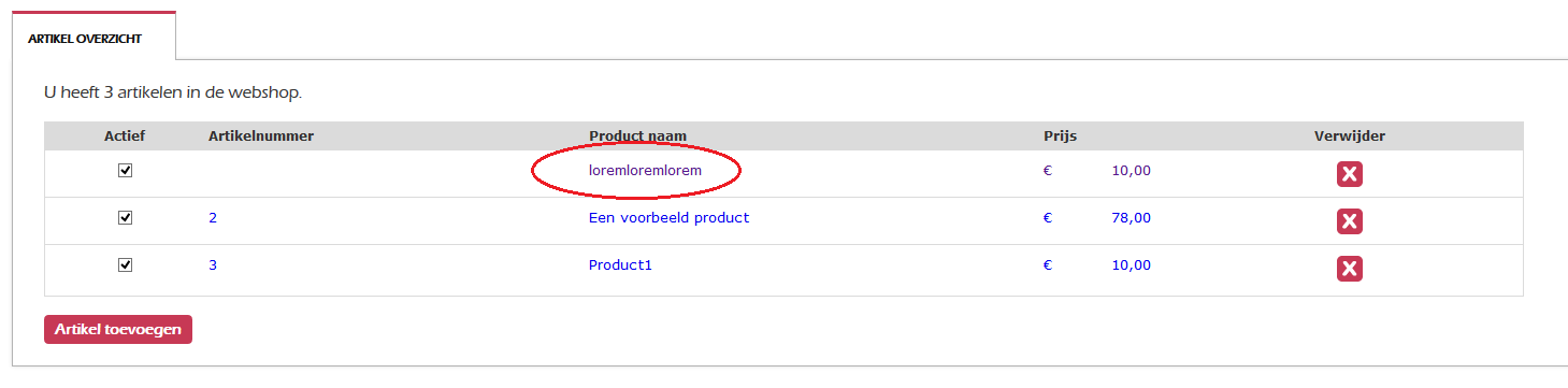 Hoe kan ik een Foto uploaden bij mijn product?