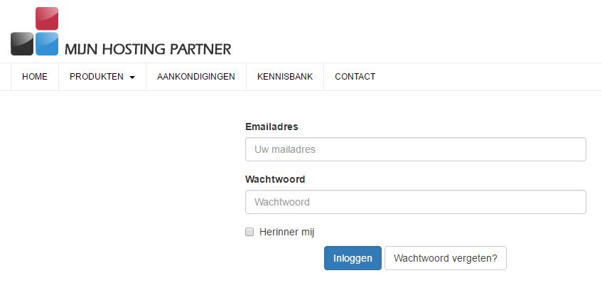 hoe betaal ik een webhosting factuur mijnhostingpartner.nl 2