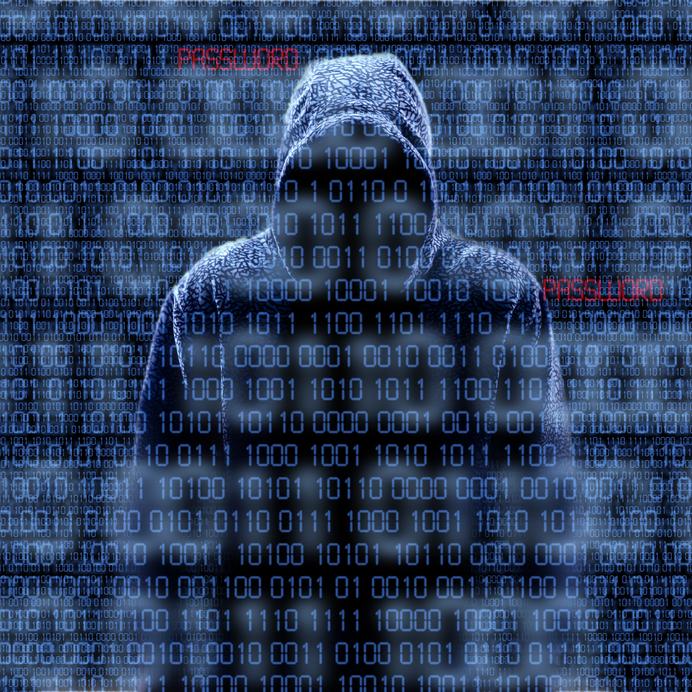 Hacker zoals hij gezien wordt door iedereen