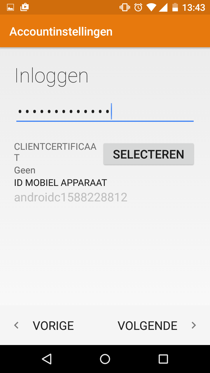 Hosted Exchange instellen op Android