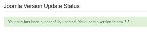 Hoe update ik Joomla?