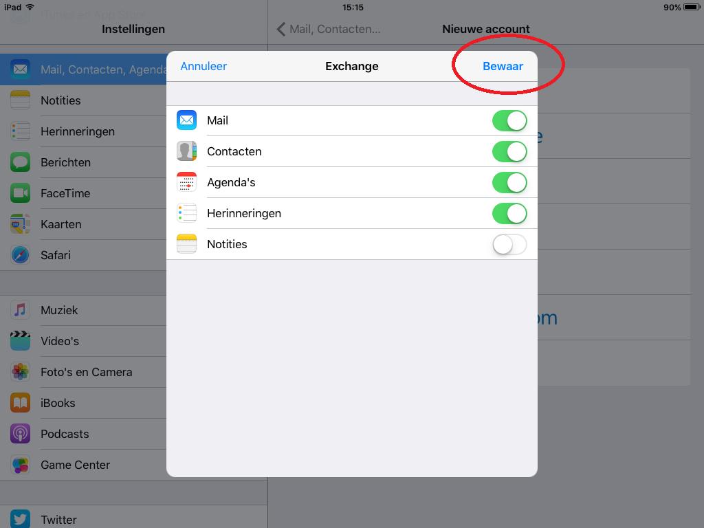 Push mail instellen IOS zo makkelijk, zelf Apple gebruikers kunnen het. 1