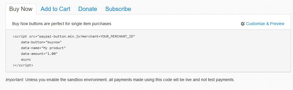 Hoe voeg ik PayPal toe aan mijn Website?