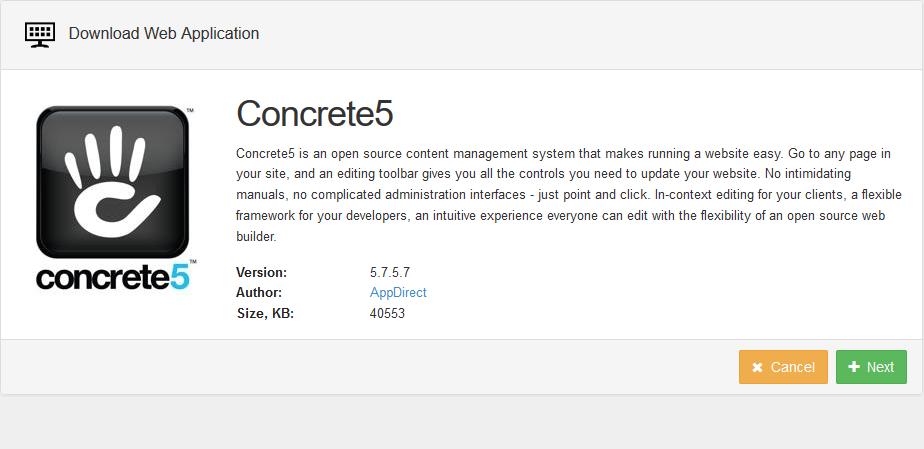 Installeren van concrete 5  plaatje 1