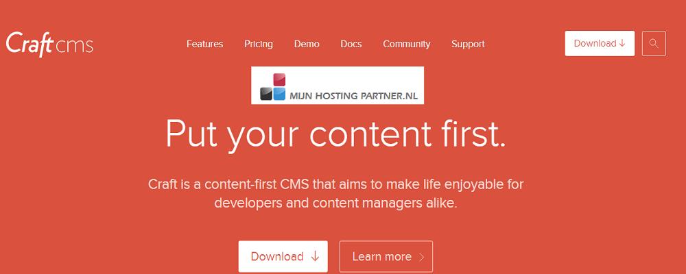 Craft CMS hosting