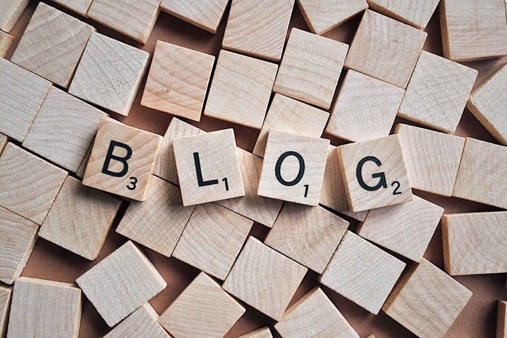 Bloggen tot je neervalt