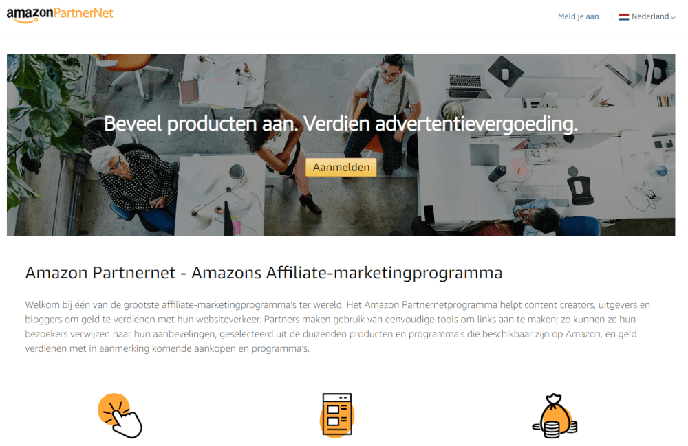 Wat is een affiliate website