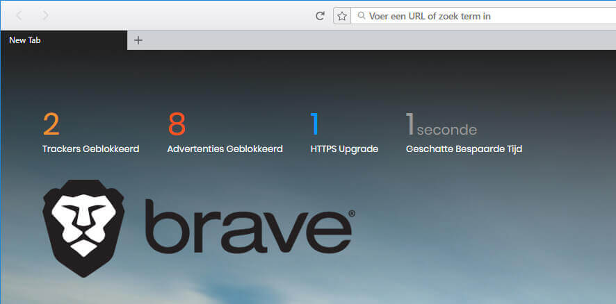 Brave meest gedownloade browser in Japan