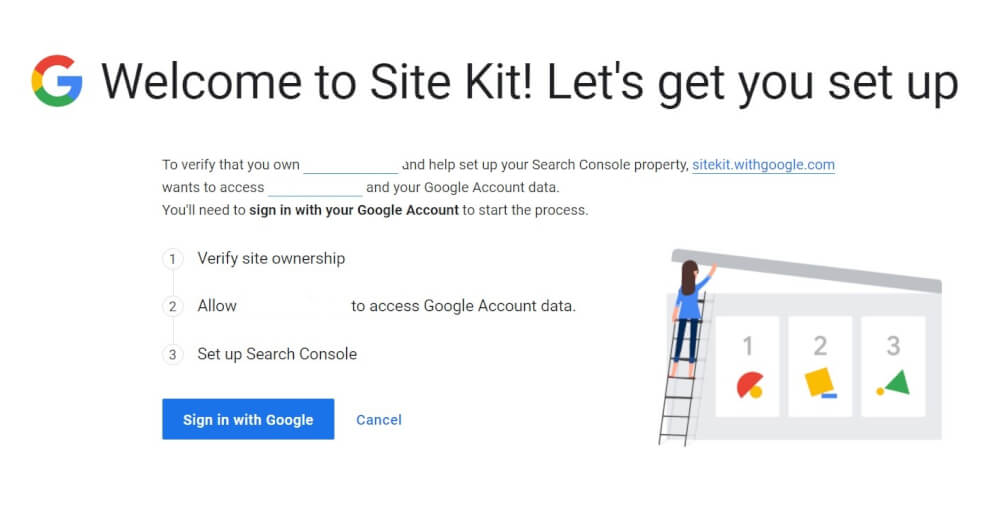 WordPress plugin SiteKit door Google