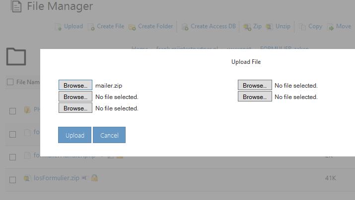 Webbuilder X5 smtp aanpassen 2