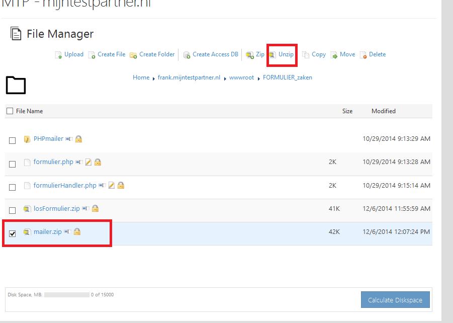 Webbuilder X5 smtp aanpassen 3