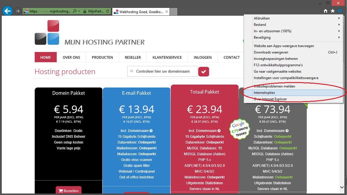 500 foutmelding oplossen voor webhosting 2