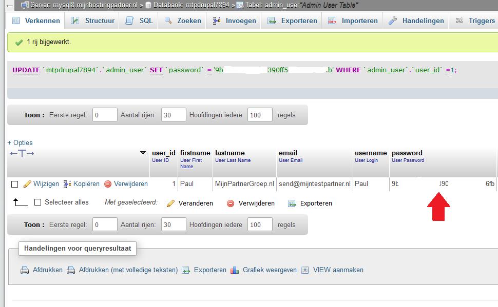 Wachtwoord resetten van een admin account - Magento