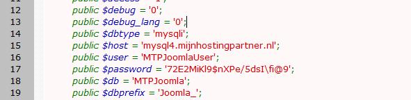Hoe kan ik een Database koppelen en aanpassen?