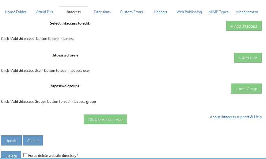 Folder beveiligen of een directory bij MijnHostingpartner.nl