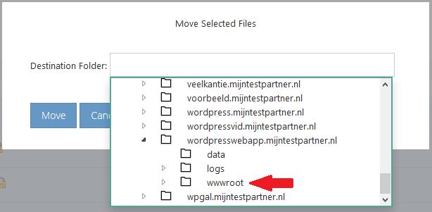 WordPress installeren bij mijnhostingpartner.nl