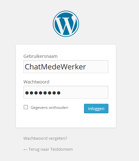 Wordpress installeren via web app 11